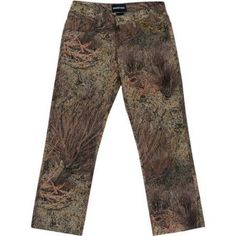 Men's 5-Pocket Jean, Available in Multiple Patterns, Size: 38/30, Green