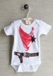 ropin' cowboy onesie