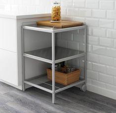25€(ikea60)Camarera metálica UDDEN IKEA