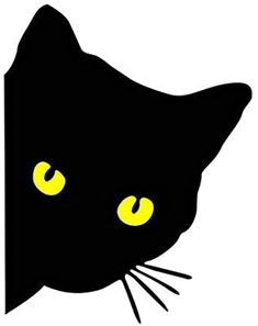 Cat Template, Deco Studio, Black Cat Art, Cat Quilt, Halloween Drawings, Christmas Crafts For Gifts, Applique Patterns, Cat Tattoo, Simple Art