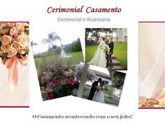 Cerimonial de casamento realizado ao ar livre