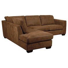Buy John Lewis Felix Leather LHF Chaise Corner Sofa Online at johnlewis.com