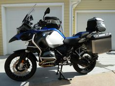 My new 2014 BMW GSA Water-Cooled motorcycle