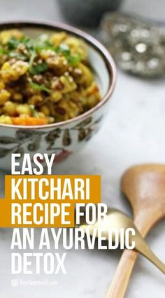 Easy Kitchari Recipe for an Ayurvedic Detox calorie diet week diet diet diet diet dukan minceur rapide sans sucre secret diet Detox Diet Drinks, Detox Diet Plan, Smoothie Detox, Detox Juices, Detox Foods, Healthy Recipes, Juice Recipes, Detox Recipes, Yogurt Recipes