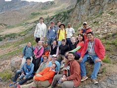 Improving Retention, Engagement. YP activities at the recent Leadership Summit in Snowbird, Utah, included a field trip in Little Cottonwood Canyon's Albion Basin.
