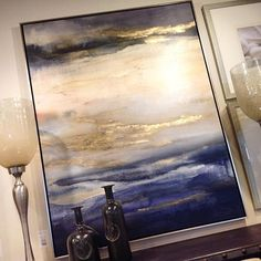 We have some amazing art on the floor! One of my personal favorites  #ambiance #ambiancehome #ambiancehomedecor #irvine #irvinefurniturestores #art #paintings #furniturestores #orangecounty #orangecountydesign #irvinedesign #interiordesign :::For more info, email us at marketing@ambiancehomecollection.com:::
