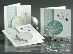 Advent, Christmas cards, between the branches, Stampin up