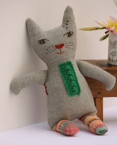 Linen Kitty - Me and Tex  https://www.etsy.com/shop/MeandTex