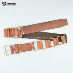 Women chain leather belt-JDLA14045 - J.D. Leather Goods