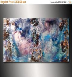 ❘❘❙❙❚❚ ON SALE ❚❚❙❙❘❘ DUE TO THE REFLECTIVE NATURE OF METALLIC THIS ART WILL LOOK MOST DRAMATIC WITH GOOD LIGHTING SIZE : 36X 24X 3/4 TITLE : DEVINE HARMONY (HIGH GLOSS FINISH,RICH TEXTURE,METALLIC( WHITE PEARL) ORIGINAL Abstract Contemporary Fine Art White textured