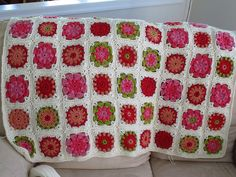 Ravelry: drjenknits' Souvlet 2 blanket