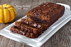 Paleo Marble Pumpkin Chocolate Bread - I can hardly wait to try this as a treat.