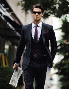 Giorgio Armani | Raddest Men's Fashion Looks On The Internet: http://www.raddestcribs.net