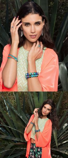 Go all in with color for a tropical feel #PANDORAmagazine