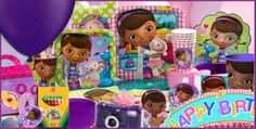 4KidsLikeMe (a Halsey Street Company) - Doc McStuffins Deluxe Party Pack (for 8) w/Real Magic Stethoscopes , $119.95 (http://www.4kidslikeme.com/products/doc-mcstuffins-deluxe-party-pack-for-8-w-real-magic-stethoscopes.html)
