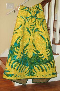 Hawaiian Pineapple Quilt