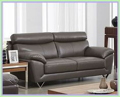 Tips That Help You Get The Best Leather Sofa Deal. Leather sofas and leather couch sets are available in a diversity of colors and styles. A leather couch is the ideal way to improve a space's design and th Best Leather Sofa, Modern Grey Sofa, Sofa Shop, Furniture, Italian Leather Sofa, Living Room Sofa, Sofa Deals, Leather Reclining Sofa, Sofa Colors