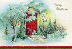 Printable Vintage Postcards Merry Christmas | , Merry Christmas - Merry Christmas - Postcards - merry christmas ...