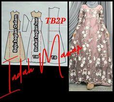 Dress Muslim Modern, Kebaya, Sewing Projects, Womens Fashion, Patterns, Dresses, Model, Blouse Patterns, Blouses