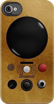 Classic Farnsworth iphone 4s case by halfabubble #warehouse13