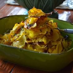 Roasted Butternut Squash Ribbons. This would be healthy right?...