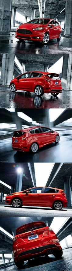 New Ford Fiesta ST - Might be getting one of these in May? Gonna get something with better gas mileage than our Hemi Durango. New Upcoming Cars, Ford Motorsport, Ford Fiesta St, Best Gas Mileage, Ford News, City Car, Top Cars, Car Ford, Ford Motor Company