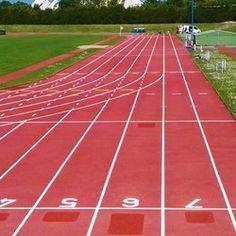 Traçage piste athlétisme - TRACE PLUS Rénovation couloirs athlétisme et repères