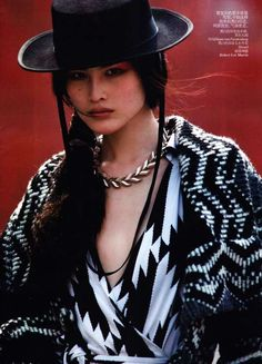 The Sui He for Vogue China November 2011 Editorial is Smoky and Subdued trendhunter.com