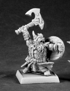 Reaper Miniatures (Dhulrekk Rune Warrior 14588) RPG 25mm Minis