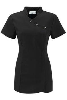 Lucian Female Beauty Tunic - Special, last few remaining! Salon Uniform, Spa Uniform, Hotel Uniform, Scrubs Uniform, Healthcare Uniforms, Medical Uniforms, Batik Blazer, Beauty Tunics, Teacher Wardrobe