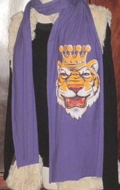 """Show those opponents whose """"King"""" of the stadium when you wear our King Mike Jersey Scarf!"""