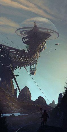 Breathtaking Sci-Fi Concept Art...