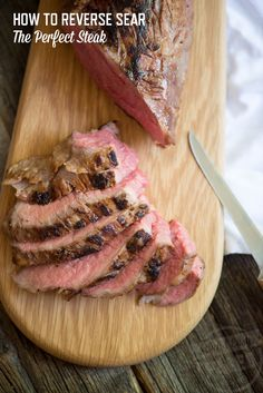 Learn how to reverse sear the perfect steak from stupideasypaleo.com!