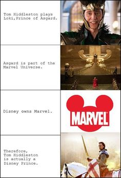 The most logical conclusion… <-- Of course it is!!! *giggles* I wonder if he realises he's a Disney prince?