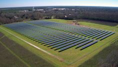Situated on 10 acres, the 1.3-megawatt project will provide more than half of the power needs of Plains, Georgia.