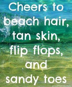 Summer ~ Beach hair, tan skin, flip flops, and sandy toes 🙂 Previous Post Next Post I Love The Beach, Summer Of Love, Summer Fun, Hello Summer, Summer Breeze, Life Is A Beach, Ocean Life, Summer 2014, Summer Vibes