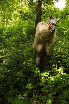 Sad wolf by bridgetmckenz, via Flickr