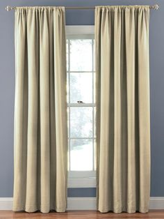Corsica Crushed Microfiber Blackout Curtain Panel by Eclipse at Gilt