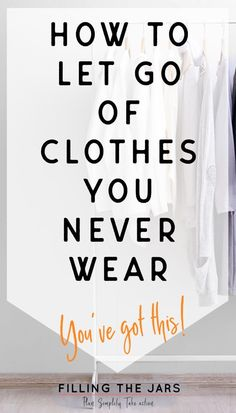 Clutter Control Decluttering tips for people who love clothes. 'I have too many clothes but I like t Getting Rid Of Clutter, Getting Organized, Organizing Your Home, Organizing Tips, Cleaning Hacks, Cleaning Closet, Cleaning Checklist, Organising, Cleaning Products