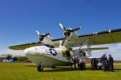 Miss Pick Up - Duxford based PBY-5A Catalina