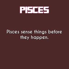 pisces daily astrology fact
