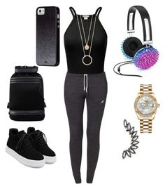 """Untitled #39"" by ashya-turner on Polyvore featuring Celebrate Shop, Rolex, WithChic, NIKE, Kate Spade, Y-3 and Case-Mate"