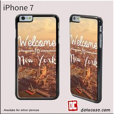 Welcom To New York For Iphone 7 Case