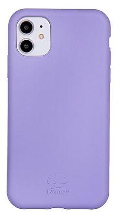 Custodia Cover iPhone XR iNature 100% Biodegradabile Ecologica Rose