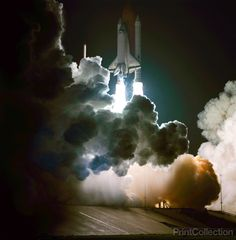 Space shuttle Challenger's third flight was the first to have its beginnings in darkness, as NASA's eighth space shuttle launch lit up the Florida sky at 2:32 a.m. EDT, Aug. 30, 1983. The STS-8 crew c