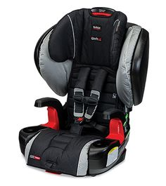 """MSRP $369 Britax Pinnacle 90. Harness to 90# Top Slots 20.5"""". Booster 120#. Top belt guide 23"""" Review - http://csftl.org/britax-frontier-90-review/"""