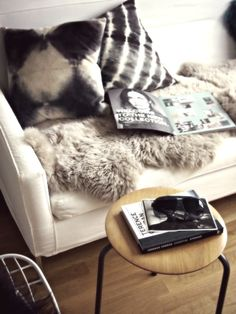 Cozy reading spot - The Alternative Wife