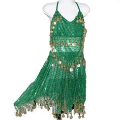 Belly Dancing Pearl Green