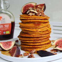 Pompoen pancakes