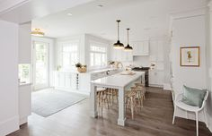 Love It Or List It Vancouver: Christine & Chris. Kitchen/dining room.